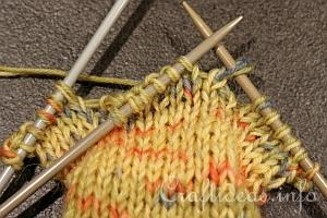 Knitting Socks Tutorial : Illustrated knitting tutorial how to knit socks