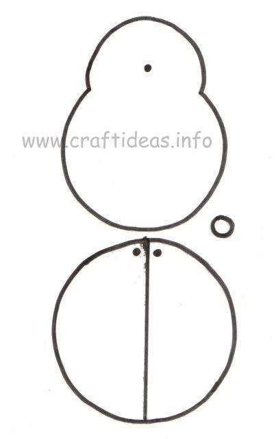 Free Craft Patterns And Templates Lady Bug Pattern