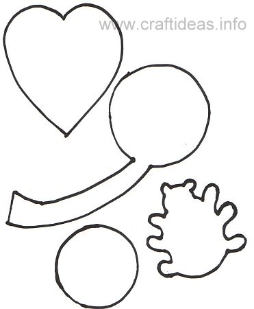 This is a photo of Four Leaf Clover Printable Template regarding transparent