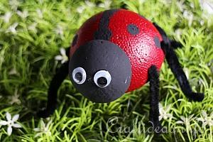 Lady Bug or Lady Bird Crafts for All Seasons