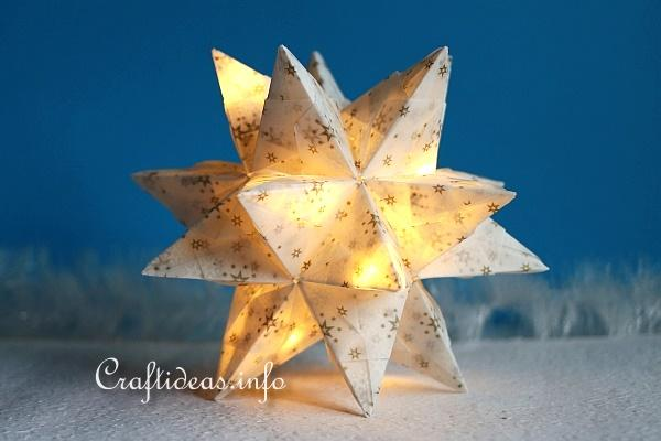 Lighted Bascetta Star