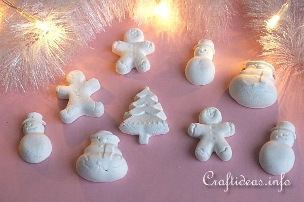 Make Clay Christmas Figures