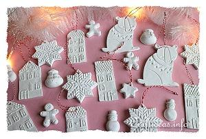 Make Clay Christmas Ornaments