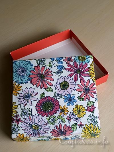 Make Fabric Covered Boxes 2