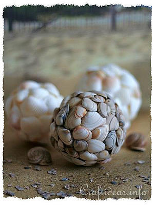 Maritime Craft - Seashell Balls