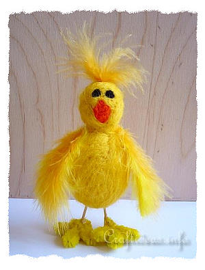 Needle Felted Easter Chick