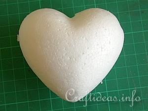 Needle Felting - Valentine Heart 1