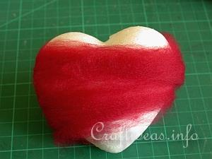 Needle Felting - Valentine Heart 2