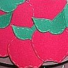 Paper Craft - Apple Basket Wall Decoration 100N
