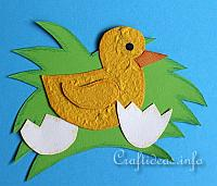 Paper Craft - Hatched Duckling
