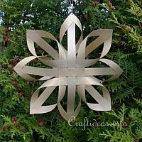 Paper Craft for Christmas - Gold Finnish Star 200