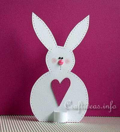 Paper Craft for Easter - Paper Bunny Decoration