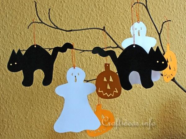 Free Paper Craft Ideas - Fall and Halloween - Craft Halloween ...