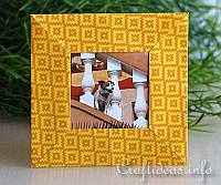 Paper Craft for Summer - Origami Picture Frame Craft for Kids 200