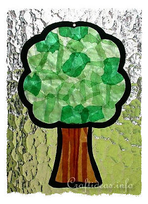 Paper Crafts For Summer And All Occasions Tree Suncatcher