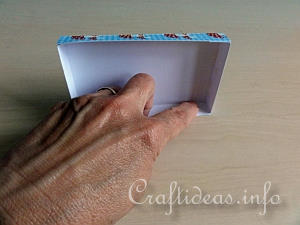 Paper Gift Box Tutorial 12