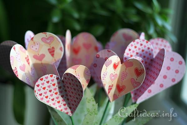 Paper Hearts Bouquet 2