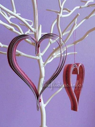 Paper Hearts Ornaments 1