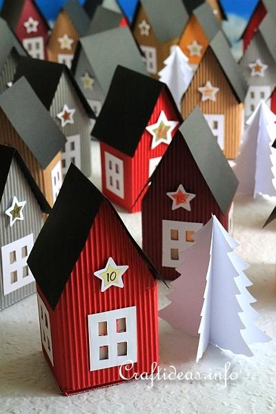 Paper Houses Advent Calendar