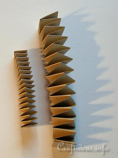 Paper Folding Craft Jacob S Ladder