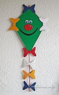 Paper Kite Decoration for the Fall