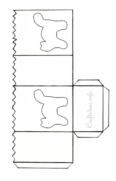 Halloween Craft Pattern Black Cat Paper Lantern