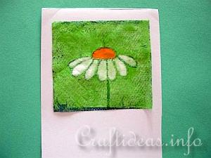 Paper Napkin Applique with Fusible Web 4