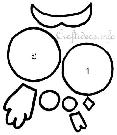 Free Owl Template Template For Paper Owls