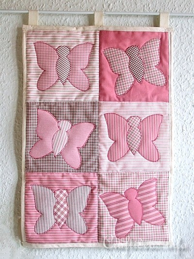 Patchwork and Sewing Craft - Butterfly Quilt