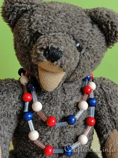 Patriotic Necklace for Kids 2