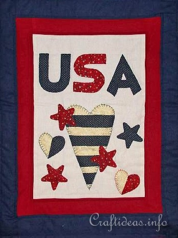 Patriotic Wall Hanging 5