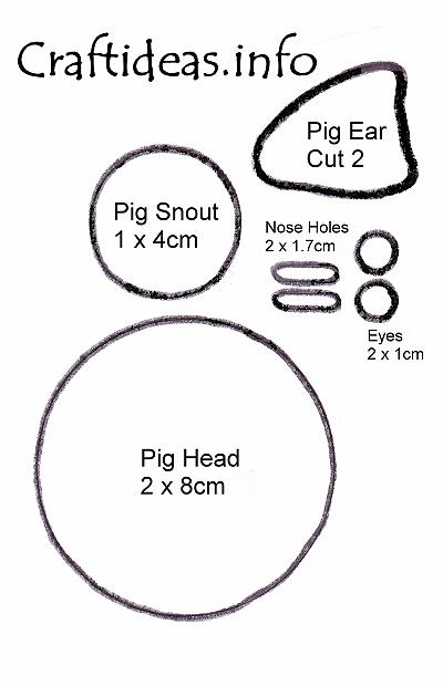 Pig Template 400