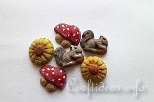 Plaster of Paris Fall Embellishments