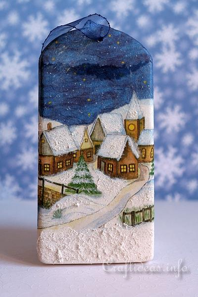 Plaster of Paris Winter Wall Decoration 2