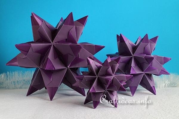 Purple Bascetta Stars