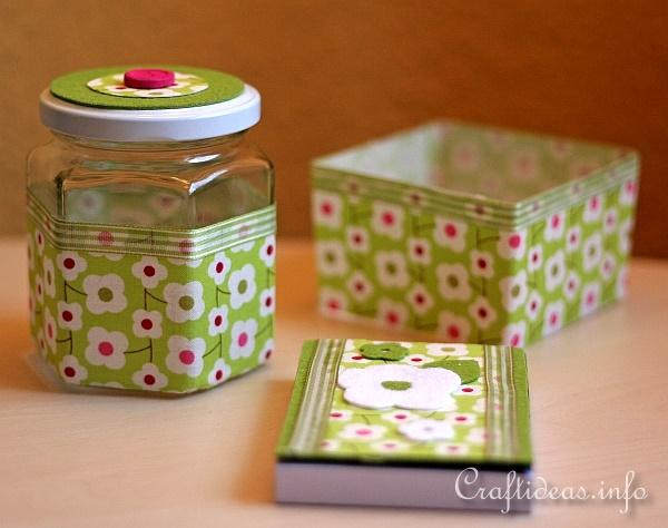 Recycling Craft - Desk Set 1