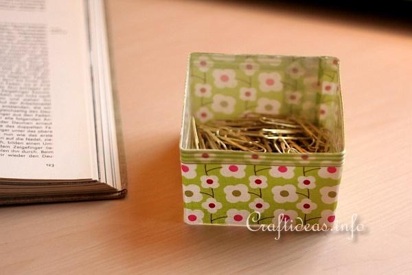 Recycling Craft - Desk Set 4
