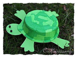 Recycling Craft for Kids - Turtle