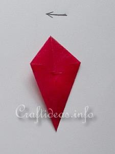 Red Transparent Star 5