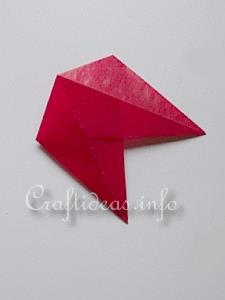 Red Transparent Star 8