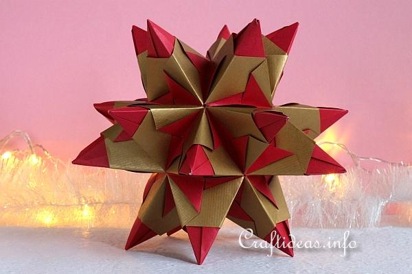 Red and Gold Bascetta Star