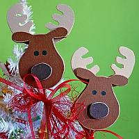 Reindeer Plant Sticks