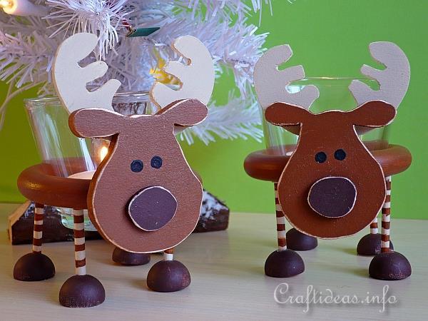 wooden deer patterns