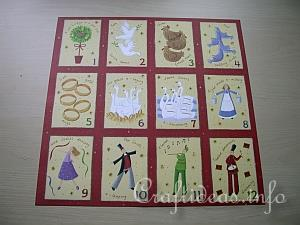 Scrapbook Paper Christmas Memory Game 3
