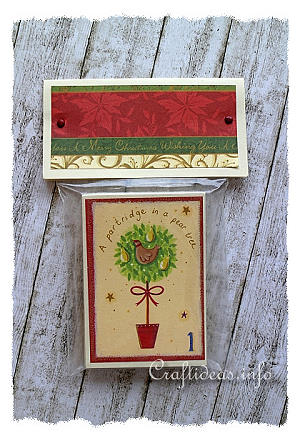 Scrapbook Paper Christmas Memory Game