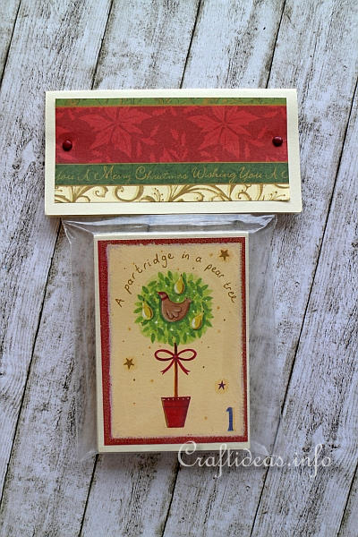 Scrapbook Paper Christmas Memory Game 5