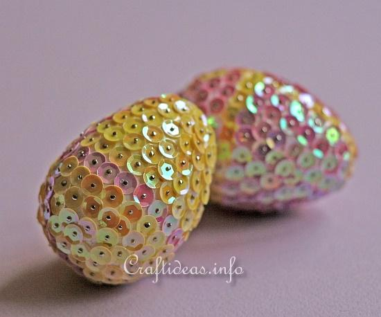 Sequin Easter Eggs 2