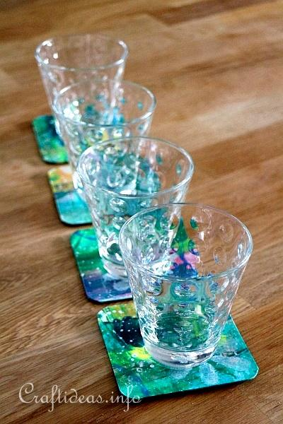 Set of Artistic Coasters