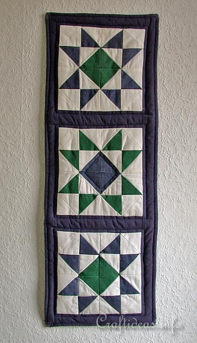 Free Patchwork And Quilting Craft Wall Hanging