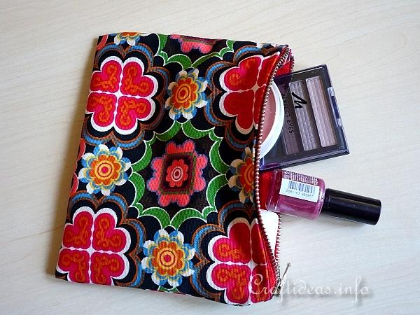 Sewing Project - Fabric Purse Organizer 2
